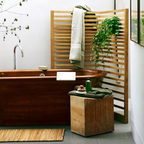 Những mẫu bồn tắm gỗ được thiết kế hài hòa, có kết cấu chặt chẽ và quan trọng tạo ra sự thoải mái cho người sử dụng.