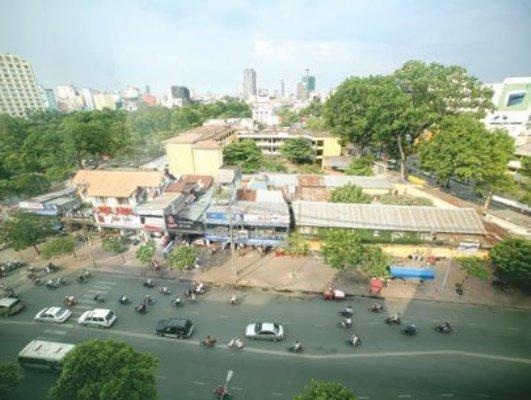 UBND thành phố vừa chấp thuận đề xuất của Sở Kế hoạch và Đầu tư về đấu thầu lựa chọn nhà đầu tư thực hiện dự án khu tam giác Trần Hưng Đạo - Nguyễn Thái Học - Phạm Ngũ Lão.