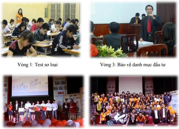 Hình ảnh cuộc thi Bản lĩnh nhà đầu tư 2013