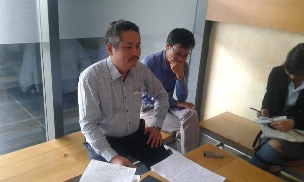 Ông Bùi Thành Hưng - Trưởng ban quản trị tòa nhà Rainbow