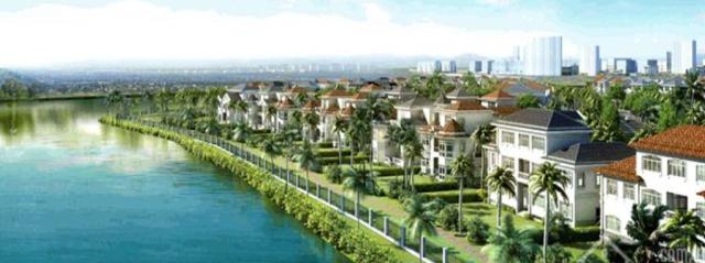 Phác phảo giai đoạn 2 của Khu dân cư Trung Sơn tại huyện Bình Chánh. Khu dân cư này nằm ngay ngã 3 giao giữa quận 8 và quận 7.