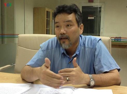 Ông Phạm Thế Vinh, đại diện Công ty Lương Gia