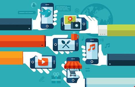 Sự bùng nổ của điện thoại thông minh mở đường cho nền kinh tế chia sẻ.(Ảnh minh họa)