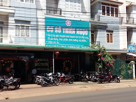 Một chi nhánh của công ty TNHH Thiên Ngọc Minh Uy. Ảnh NlĐ