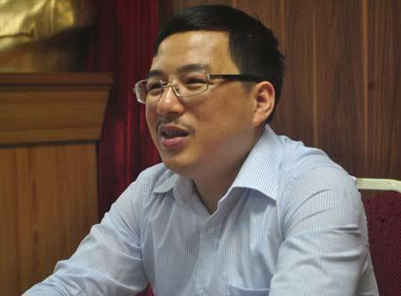 Ông Đặng Quyết Tiến, Phó Cục trưởng Cục Tài chính DN (Bộ Tài chính).