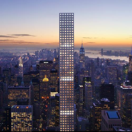 Cao ốc 432 Park Avenue, New York, Mỹ. Ảnh: 432parkavenue
