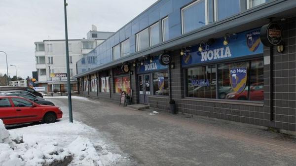Thị trấn Nokia hiện giờ. Không còn bóng dáng của quê nhà của một đế chế công nghệ.