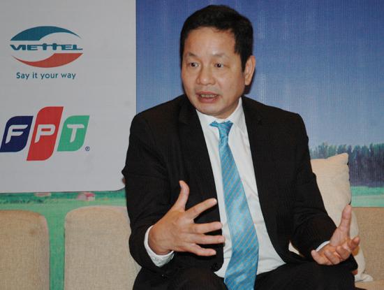 Ông Trương Gia Bình, Chủ tịch Hiệp hội Phần mềm và Dịch vụ CNTT Việt Nam.