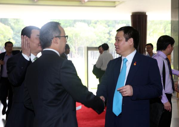 Phó Thủ tướng Vương Đình Huệ tham dự Hội nghị. Ảnh: VGP