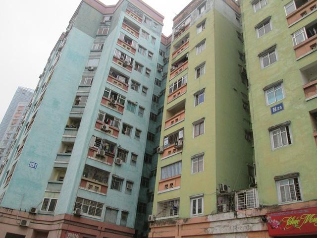 Tòa nhà N2A và N2B. Ảnh: Ngọc Thi