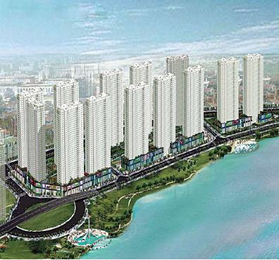 Phối cảnh khu phức hợp cao cấp 2/9 Đà Nẵng Hoàng Anh Gia Lai dự định đầu tư