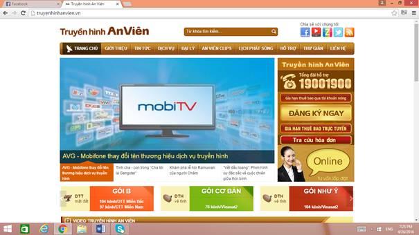 MobiFone đã công bố tên thương hiệu chính thức của truyền hình An Viên từ nay trở đi sẽ là MobiTV.