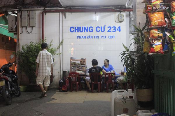 Chung cư 234 là chung cư tái định cư của các hộ dân sống tại khu vực Kênh Nhiêu Lộc - Thị Nghè.