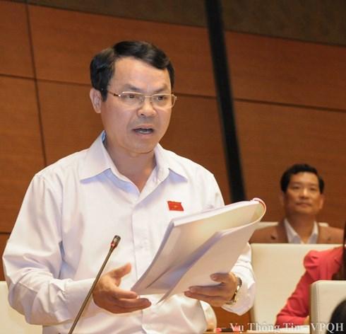 Đại biểu Quốc hội Nguyễn Tiến Sinh
