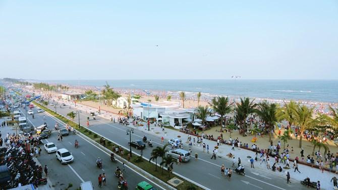 Sầm Sơn đang từng bước trở thành một trong những đô thị đáng sống tại Việt Nam.