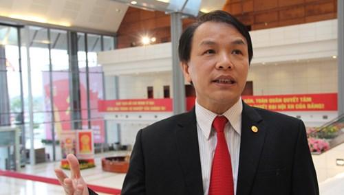 Phó Chánh Văn phòng Trung ương Đảng Lê Quang Vĩnh.
