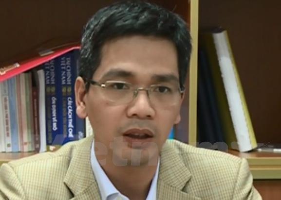 Ông Võ Thành Hưng, Vụ trưởng Vụ Ngân sách Nhà nước, Bộ Tài chính. (Ảnh: PV/Vietnam+)