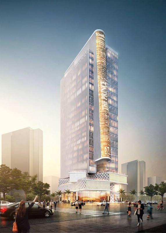 Dự án The Prince cũng được xây dựng tại trung tâm Phú Mỹ Hưng
