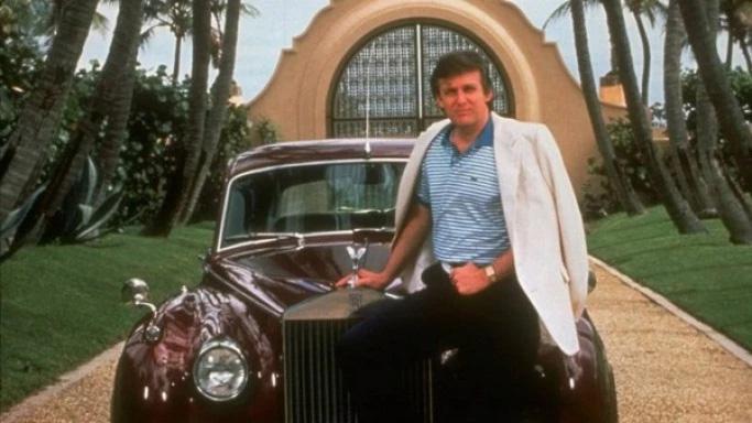 Rolls Royce chưa bao giờ là ước mơ xa vời đối với Donald Trump ngay cả khi tuổi đời còn rất trẻ. Ảnh: TTB