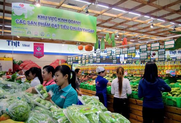 TPHCM có gần 250 điểm bán các sản phẩm rau củ quả đạt tiêu chuẩn VietGAP.