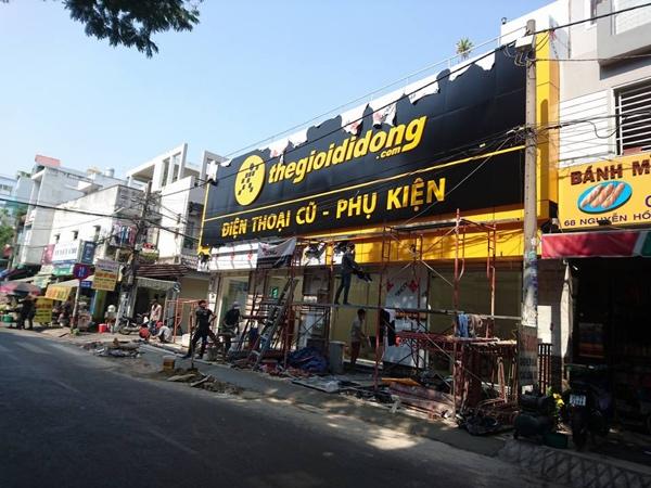 Cửa hàng thuộc loại C, với 3-4 nhân viên - Ảnh: Trương Hữu Dũng