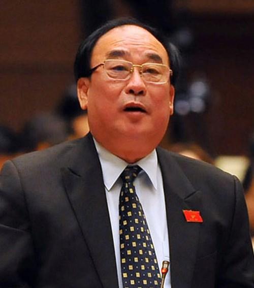 Đại biểu Quốc hội Trần Ngọc Vinh.