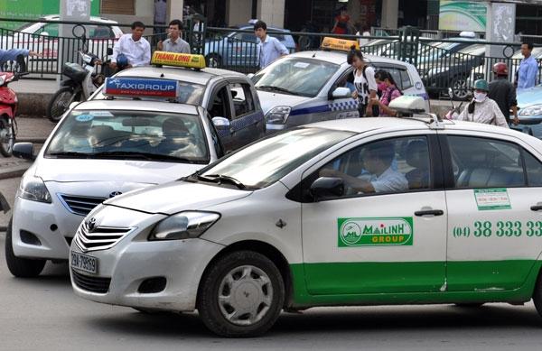 Giá cước taxi ở Hà Nội hiện thấp nhất cả nước - Ảnh: K.Linh