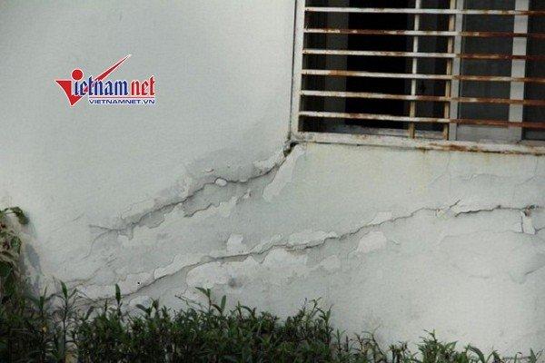 Một chung cư từng được quảng cáo là cao cấp tại Nam Sài Gòn