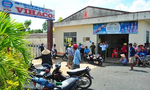 Cty TNHH Việt Hải bị người lao động đòi lương khi giám đốc bỏ trốn.