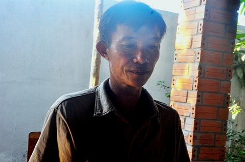 Ông Nguyễn Văn Bỉ bị khởi tố vì dựng chòi nuôi vịt.