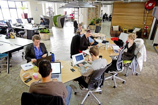 Một Coworking Space ở Sydney, Úc