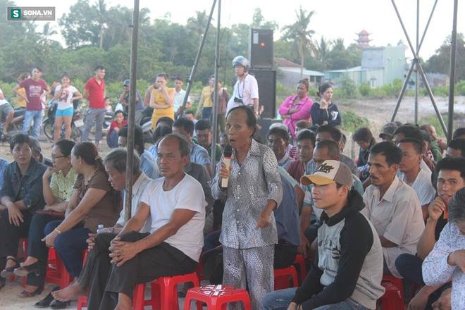 Bà Phạm Thị Cúc: Dân chúng tôi ngày nào cũng hít không khí ô nhiễm