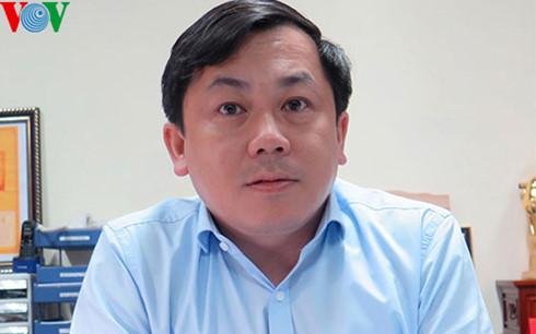Ông Hoàng Hồng Giang, cục trưởng Cục Đường thủy nội địa