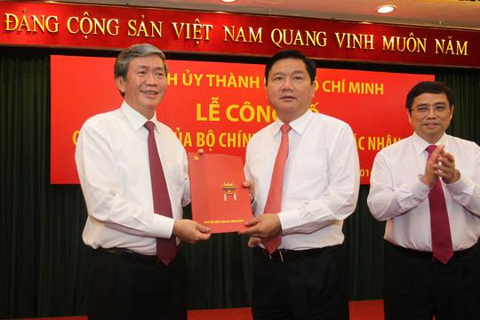 Ông Đinh La Thăng nhận nhiệm vụ Bí thư Thành ủy TP HCM ngày 5-2.