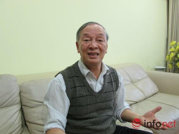 Ông Vũ Vinh Phú, Chủ tịch Hiệp hội siêu thị Hà Nội. Ảnh D.Thùy