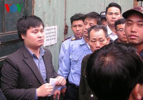 Lực lượng chức năng hạn chế phóng viên tiếp cận công trình