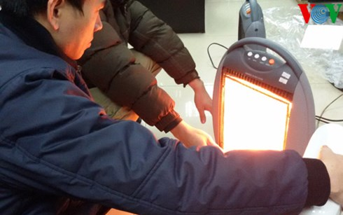 Người tiêu dùng có nhiều lựa chọn đối với các mặt hàng máy sưởi ấm