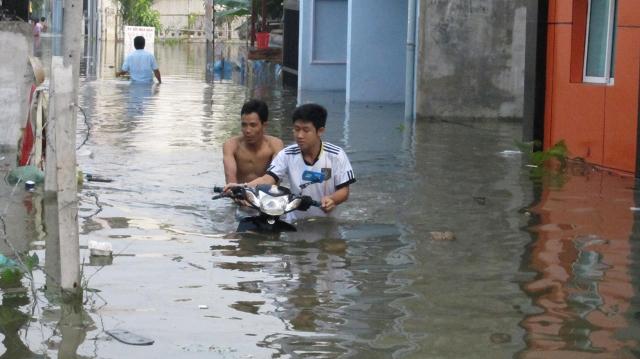Giải quyết vấn đề ngập nước tại TPHCM sẽ là thách thức lớn đối với Bí Thư Thành ủy TPHCM Đinh La Thăng