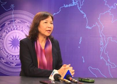 Bà Vũ Thị Thuận - Chủ tịch Hội đồng quản trị Công ty CP Traphaco cho rằng: Giữa bối cảnh hàng nhái rất nhiều, các doanh nghiệp phải ý thức được việc đăng ký SHTT.
