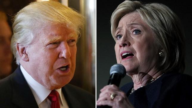 Cuộc đối đầu Trump - Clinton sẽ còn nhiều dữ dội. Ảnh: Getty Images