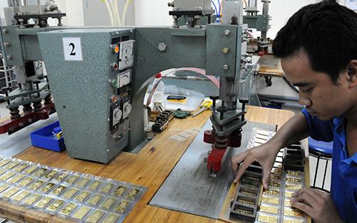 NBPP đảm trách cả hoạt động sản xuất vàng miếng