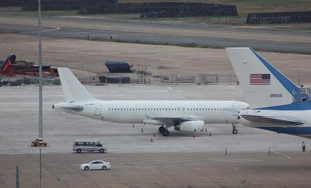 Máy bay phục vụ