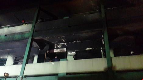 Hơn 3.000 m2 nhà xưởng đã bị hỏa hoạn thiêu rụi