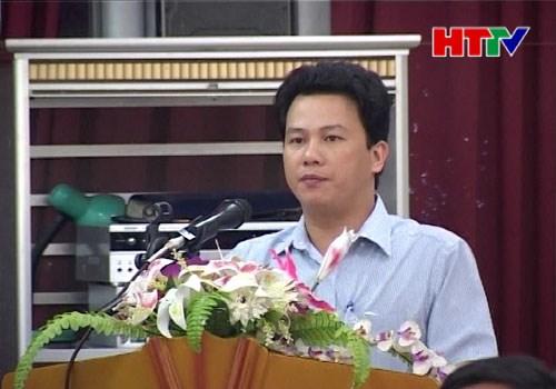 Ông Đặng Quốc Khánh - Phó chủ tịch UBND tỉnh Hà Tĩnh