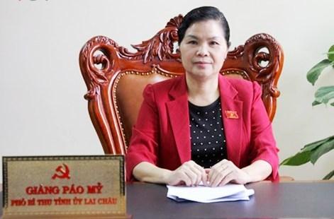 Chủ tịch HĐND tỉnh Lai Châu Giàng Páo Mỷ