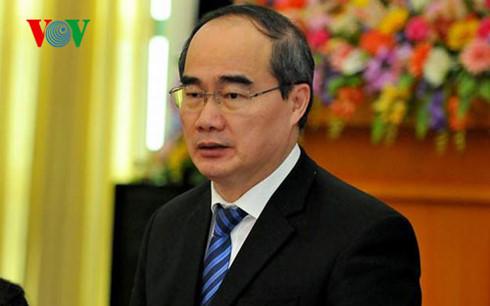 Ông Nguyễn Thiện Nhân, Ủy viên Bộ Chính trị, Chủ tịch Ủy ban Trung ương MTTQ Việt Nam