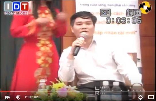 Phạm Thanh Hải giải đáp thắc mắc của nhà đầu tư