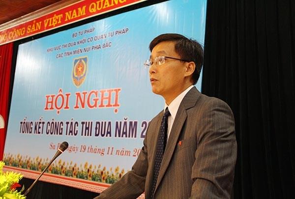 Thứ trưởng Bộ Tư pháp Nguyễn Khánh Ngọc
