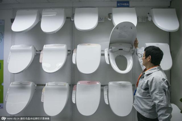 Sản phẩm nắp bồn cầu tại Nhật Bản khiến bao người Trung Quốc mê mẩn