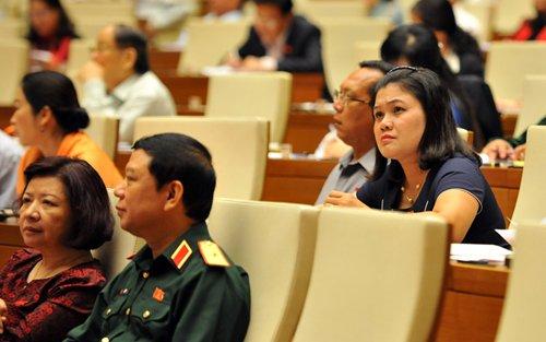 Phiên họp Quốc hội.. Ảnh: H.Long
